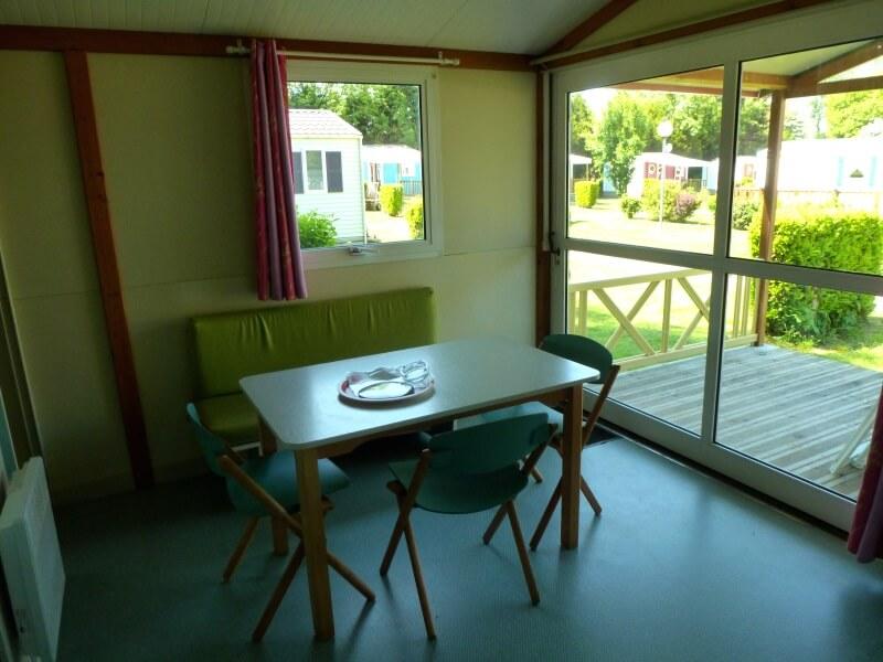 Chalet - Salon et terrasse