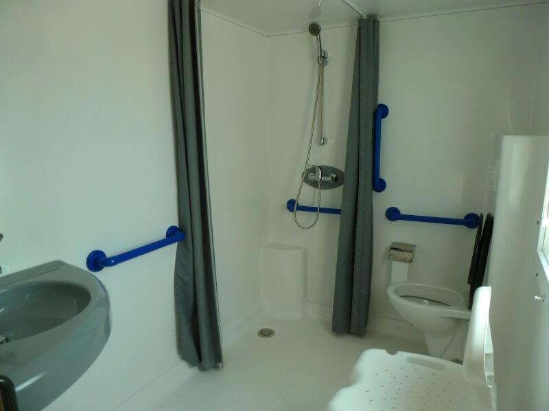 Mobilhome PMR salle de bain