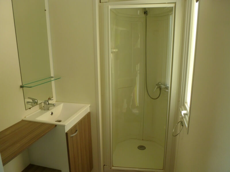 Mobilhomes pour 6 à 8 personnes - Salle d'eau