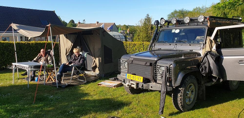 Le camping en mode baroudeur