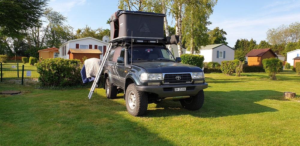 Le camping en 4x4 HDJ80